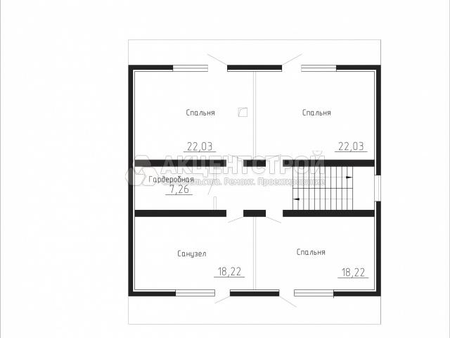 Дом из газобетона 248 кв.м.