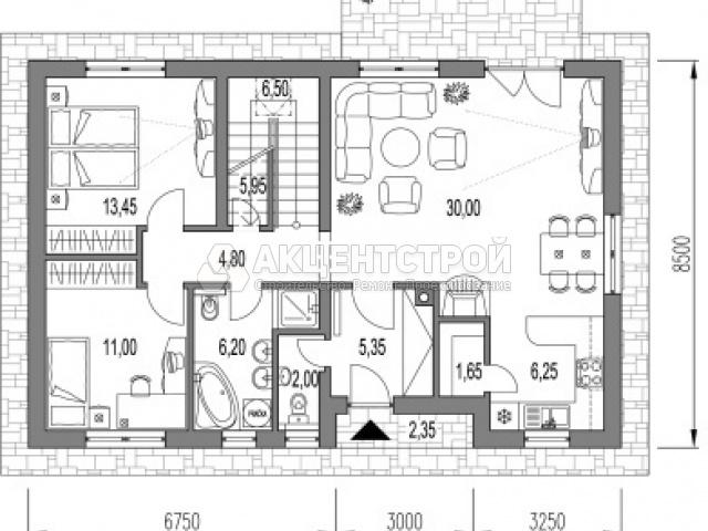 Дом из газобетона 221 кв.м.