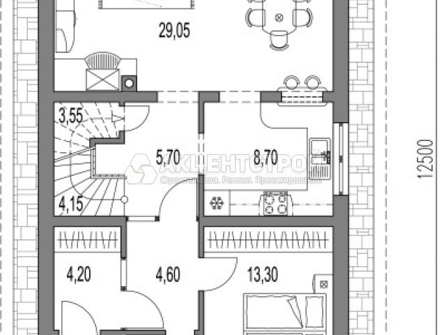 Дом из газобетона 187,5 кв.м.
