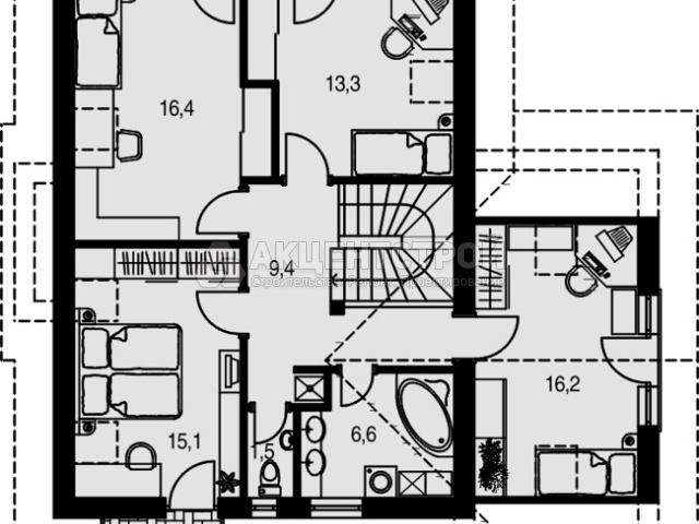 Дом из кирпича 170 кв.м.