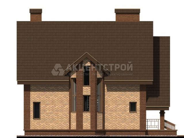Дом из газобетона 129,9 кв.м.