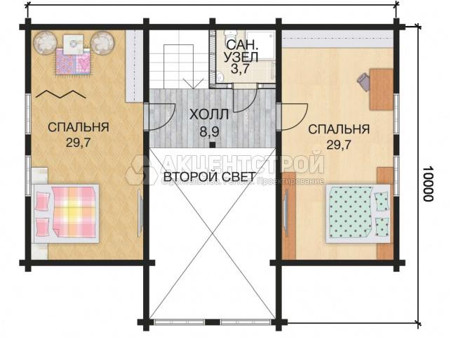 Дом из бруса 251 кв.м.