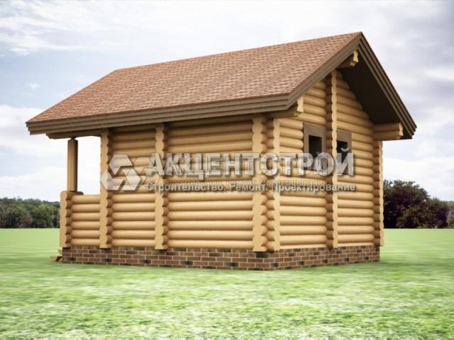 Баня из бревна 10