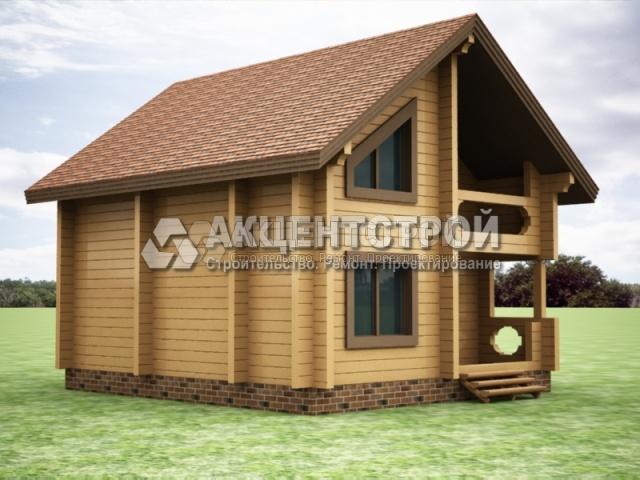 Проект дома из бруса 33