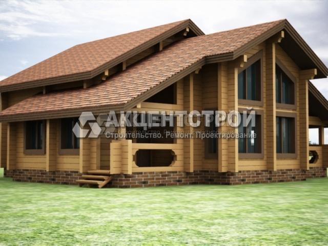Проект дома из бруса 39