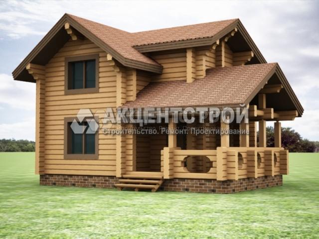 Проект дома из бруса 5