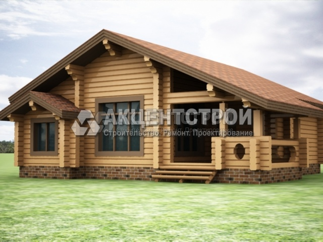 Проект дома из бруса 6