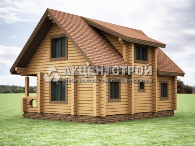 Проект дома из бруса 4