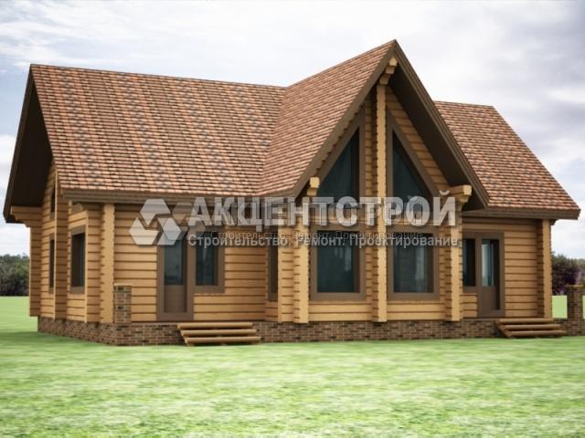 Проект дома из бруса 9