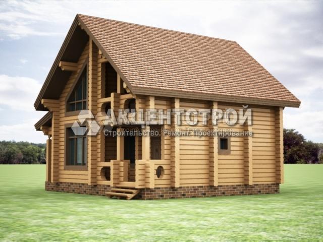 Проект дома из бруса 11