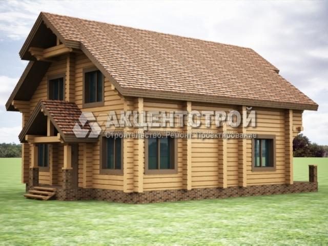 Проект дома из бруса 12