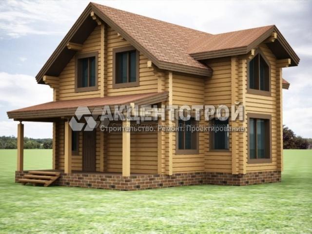 Проект дома из бруса 49