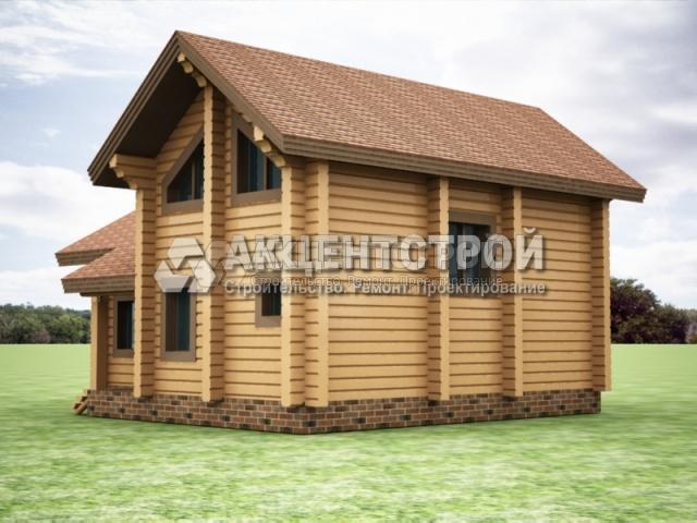 Проект дома из бруса 3