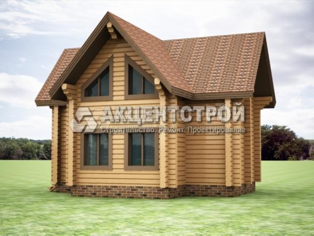 Проект дома из бруса 10