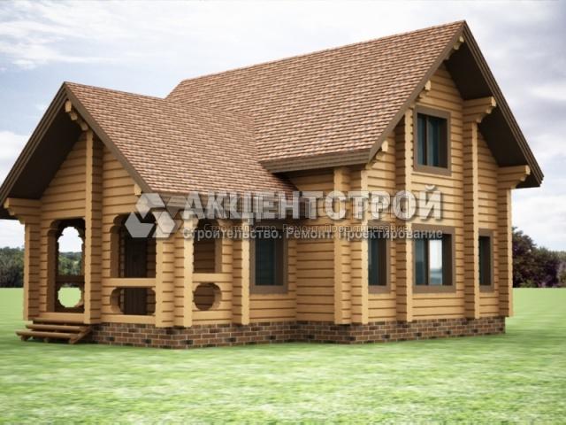 Проект дома из бруса 15