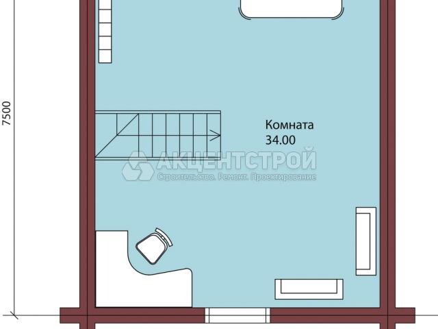 Проект дома из бруса 27