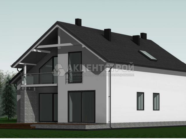 Дом из газобетона 190 кв.м.