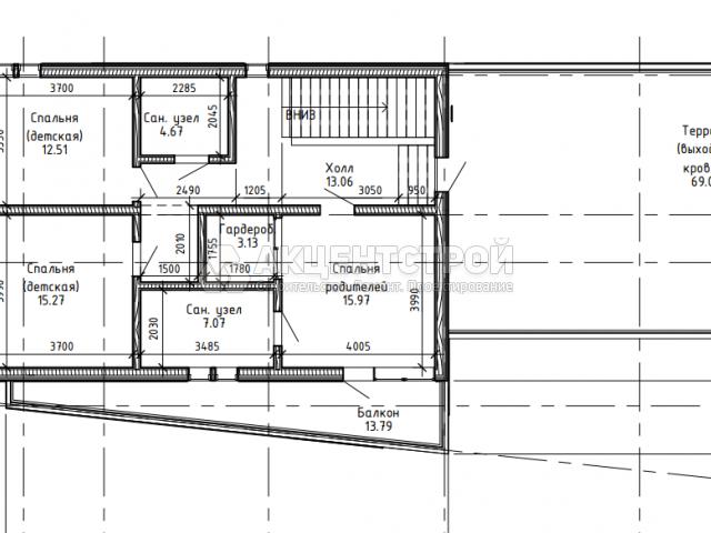 Каркасный дом 164 кв.м.