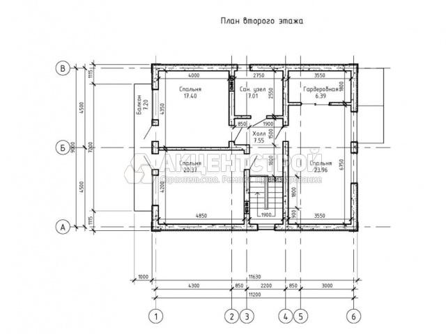 Дом из газобетона 156 кв.м.