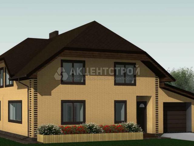 Дом из газобетона 167,5 кв.м.